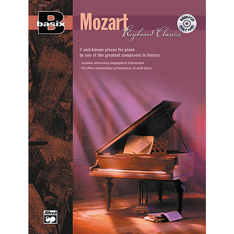 Alfred Basix Keyboard Classics: Mozart (Book/CD)