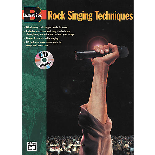 Alfred Basix Rock Singing Method Book/CD