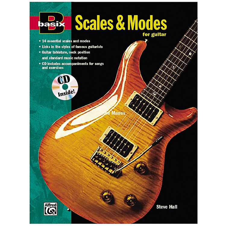 AlfredBasix Scales and Modes for Guitar Book & CD