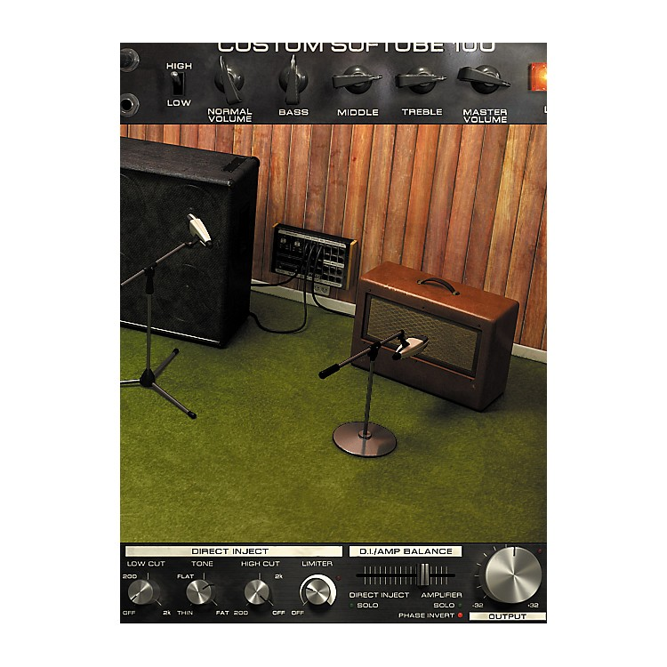 Softube Bass Amp Room NATIVE (VST/AU/RTAS) Plug-In - Digital Download Digital Download