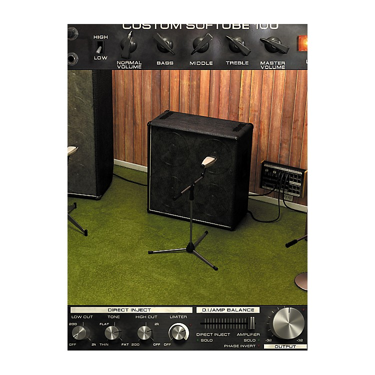 Softube Bass Amp Room Plug-in - Native Software  Download