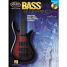 Hal Leonard Bass Blueprints - Creating Bass Lines from Chord Symbols (Book/CD)