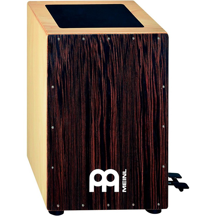 Meinl Bass Cajon with Foot Pedal and Ebony Frontplate