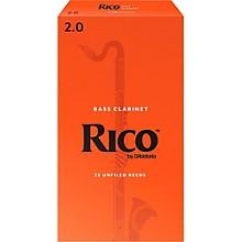 Rico Bass Clarinet Reeds, Box of 25