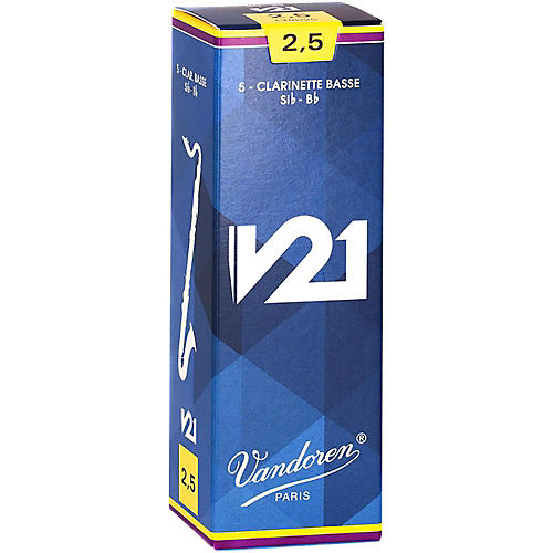 Vandoren Bass Clarinet V21 Reeds Box of 10-thumbnail