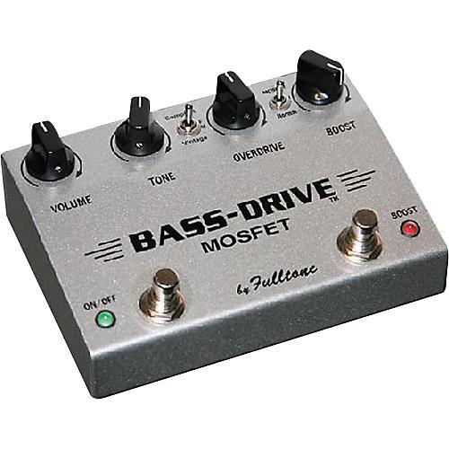 Fulltone Bass-Drive Mosfet Overdrive Bass Effects Pedal
