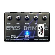 Carl Martin Bass Drive Tube Pre Amp Bass Effects Pedal Level 1