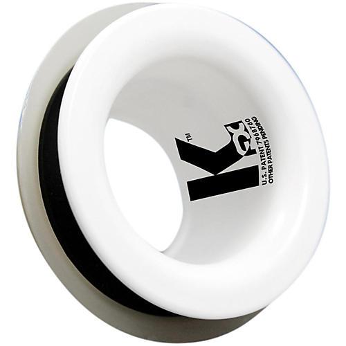 Kickport Bass Drum Sound Enhancer Batter White
