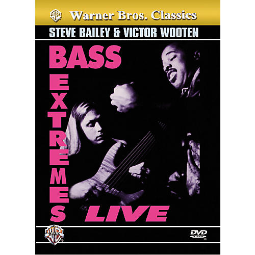 Alfred Bass Extremes Wooten and Bailey (DVD)