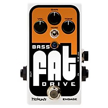 Pigtronix Bass Fat Drive Effects Pedal Level 1