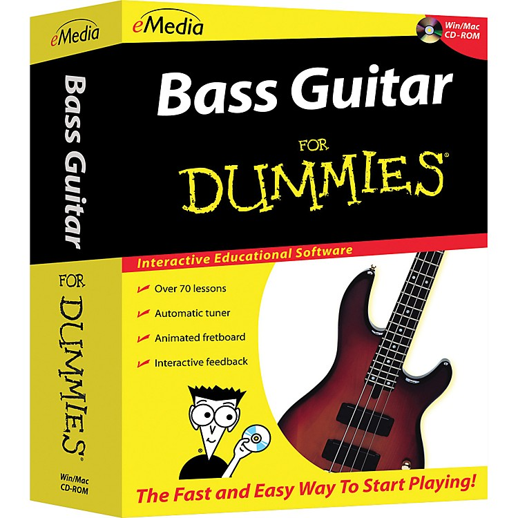 eMedia Bass For Dummies CD-ROM