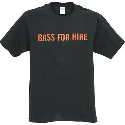 Musician's Gear Bass For Hire T-Shirt-thumbnail
