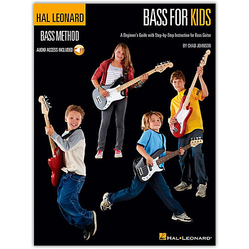 Hal Leonard Bass For Kids - Bass Method (Book/CD)