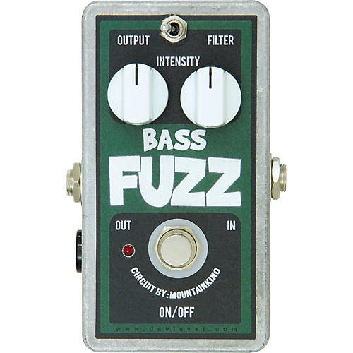 Devi Ever Bass Fuzz Guitar Effects Pedal