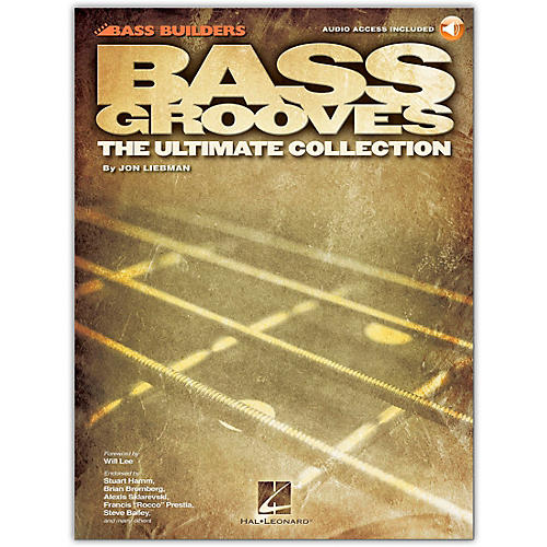 Hal Leonard Bass Grooves - The Ultimate Collection (Book/CD)