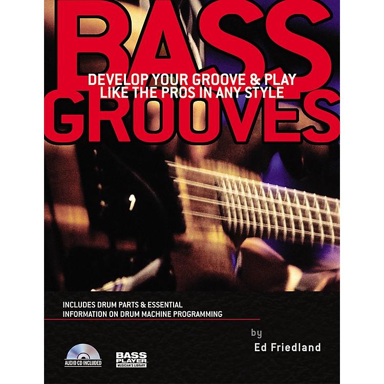 Backbeat BooksBass Grooves (Book/CD)