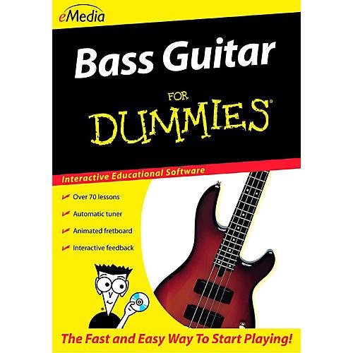 Emedia Bass Guitar For Dummies - Digital Download-thumbnail