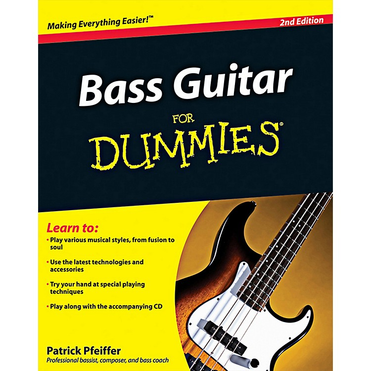 Mel Bay Bass Guitar for Dummies, 2nd Edition Book/CD Set