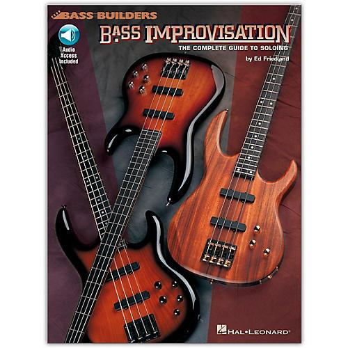 Hal Leonard Bass Improvisation (Book/Online Audio)-thumbnail
