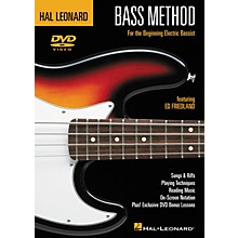 Hal Leonard Bass Method (DVD)
