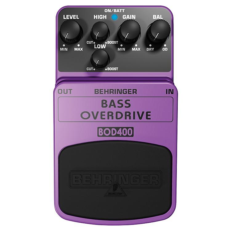 BehringerBass Overdrive BOD400 Bass Effects Pedal