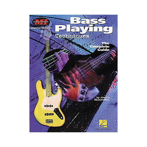 Hal Leonard Bass Playing Techniques Book