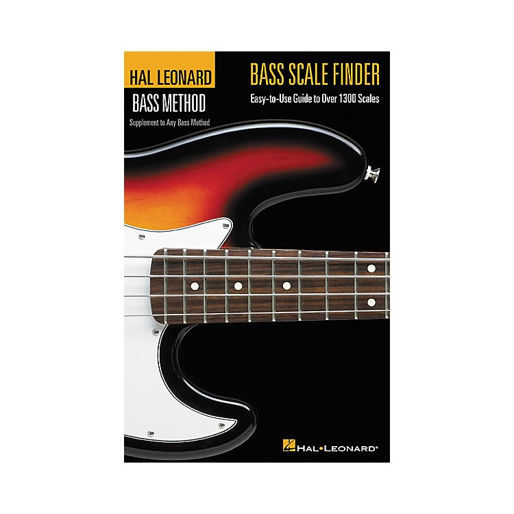 Hal Leonard Bass Scale Finder(Book)