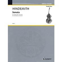 Schott Bass Sonata (1949) (Double Bass and Piano) Schott Series