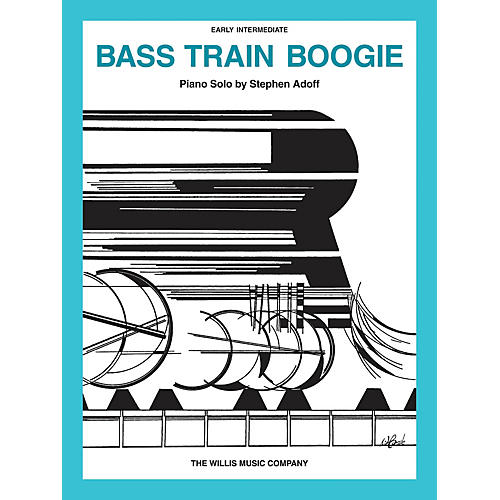 Willis Music Bass Train Boogie (Early Inter Level) Willis Series by Stephen Adoff-thumbnail