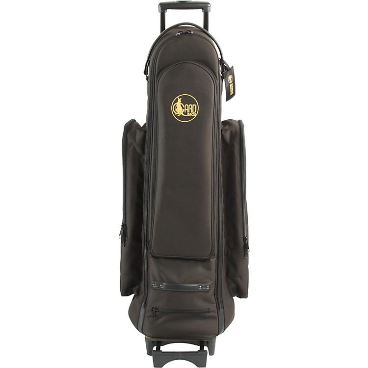 GardBass Trombone Wheelie Bag24-WBFLK BlackUltra Leather