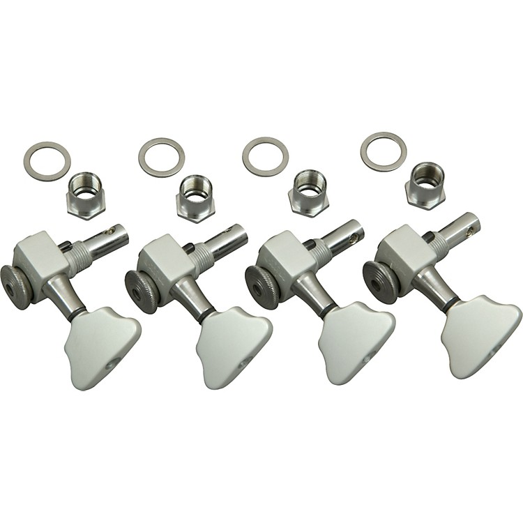 Sperzel Bass Tuning Keys Satin Chrome 4L