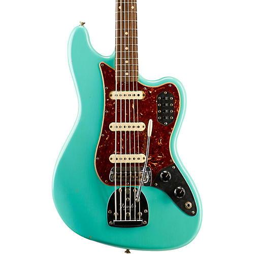 Fender Custom Shop Bass VI Journeyman Relic Electric Bass Guitar-thumbnail
