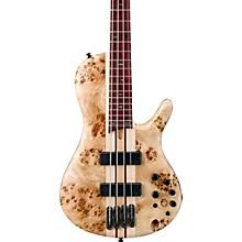 Ibanez Bass Workshop SR Cerro Singlecut 4 String Electric Bass Guitar Flat Natural