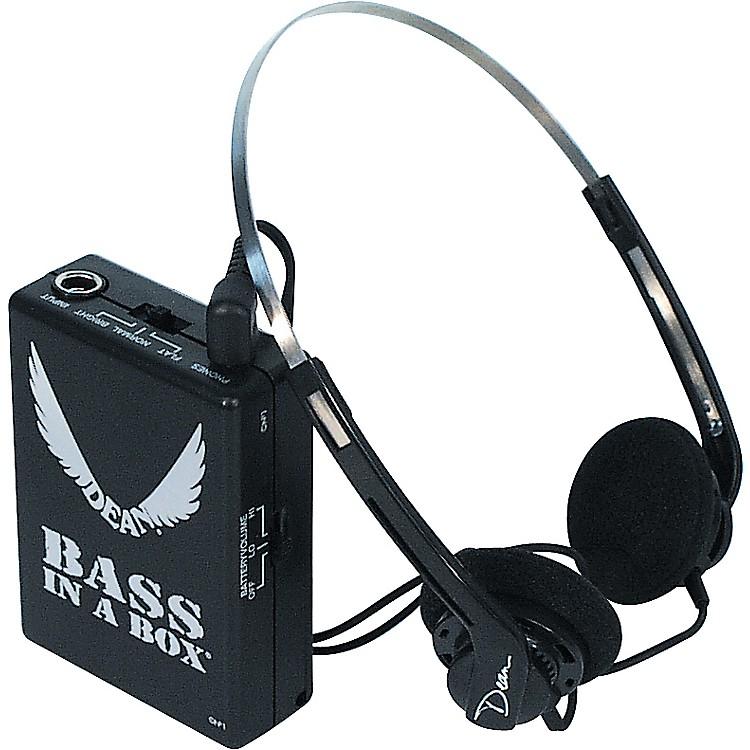 dean bass in a box bass headphone amplifier musician 39 s friend. Black Bedroom Furniture Sets. Home Design Ideas
