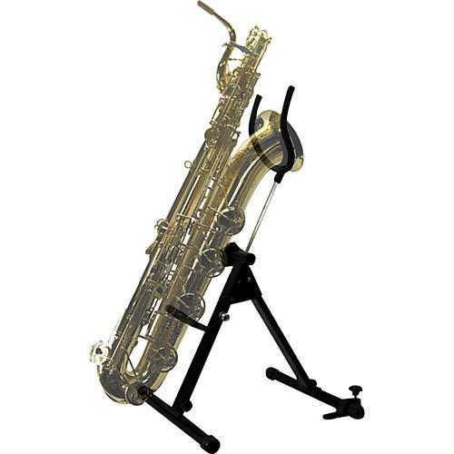 International Woodwind Bass or Bari Saxophone Stand by Saxrax Bari Sax - Head Only