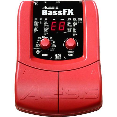 Alesis BassFX Bass Guitar Multi-Effects Pedal-thumbnail