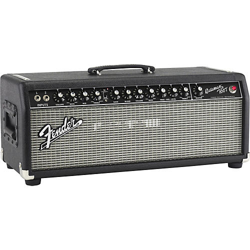Fender Bassman Pro 100T 100W Tube Bass Amp Head Black