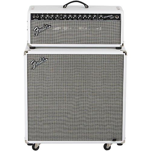 Fender Bassman Pro 100T 100W Tube Bass Head and 4x10 Neo Bass Cab ...