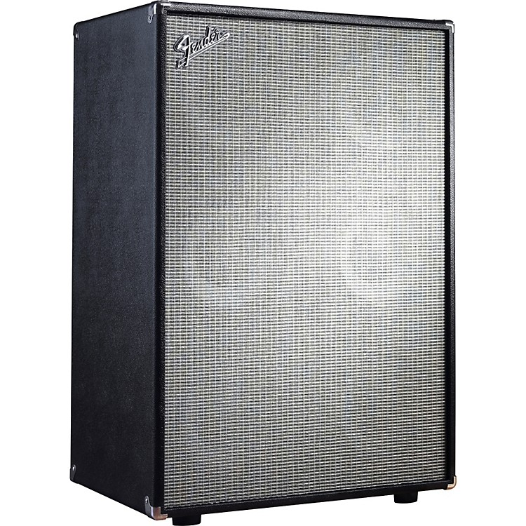 Fender Bassman Pro 610 6x10 Neo Bass Speaker Cabinet Black