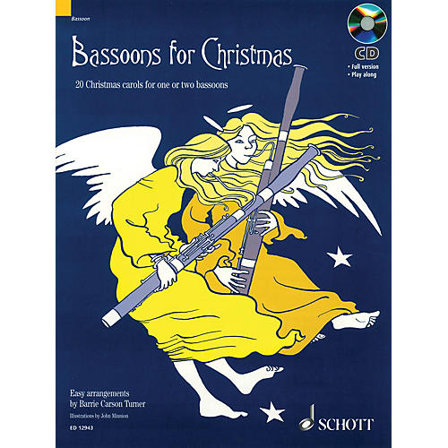 Schott Bassoons for Christmas Misc Series Softcover with CD-thumbnail