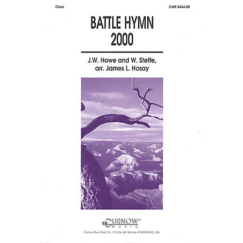 Curnow Music Battle Hymn 2000 (Grade 4 Concert Band with Choir) Concert Band Level 4 Composed by James L Hosay-thumbnail