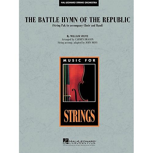 Hal Leonard Battle Hymn of the Republic Concert Band Level 4-5 Arranged by John Moss-thumbnail
