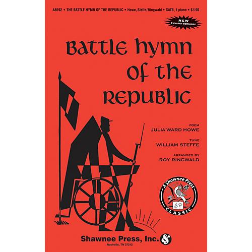 Shawnee Press Battle Hymn of the Republic SATB Arranged by Roy Ringwald-thumbnail