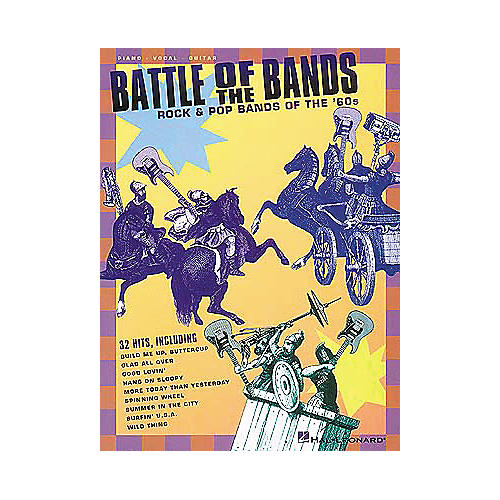 Hal Leonard Battle of the Bands Piano, Vocal, Guitar Songbook