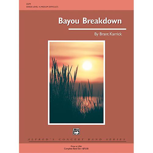 Alfred Bayou Breakdown Grade 4 (Medium Difficult)-thumbnail