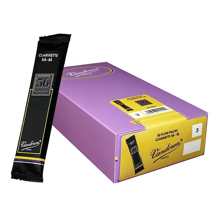 VandorenBb Clarinet 56 Rue Lepic Reed Box of 502.5Box of 50