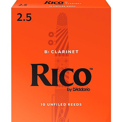 Rico Bb Clarinet Reeds, Box of 10-thumbnail
