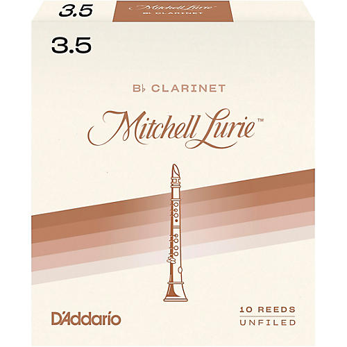 Mitchell Lurie Bb Clarinet Reeds Strength 3.5 Box of 10