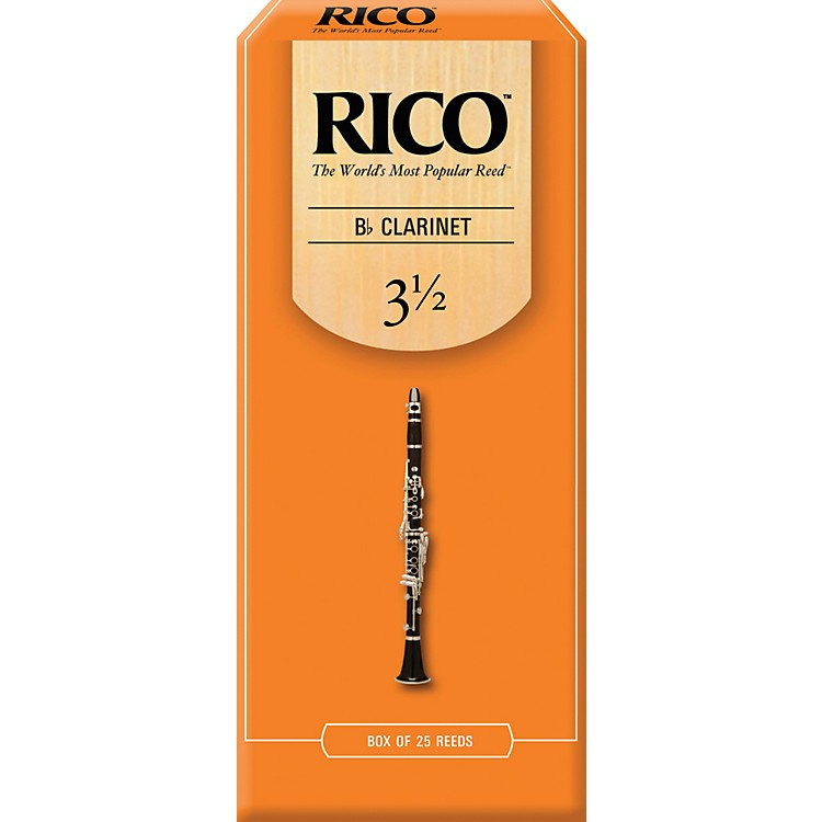 RicoBb Clarinet ReedsStrength 2Box of 25