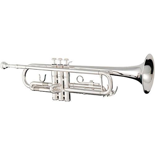 Eldon Bb Trumpet Silver Plate body-thumbnail